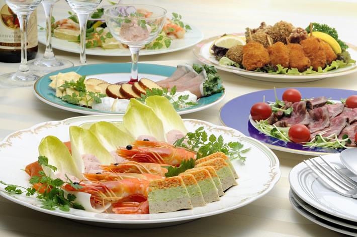オードブル料理 2,500円(税別)より